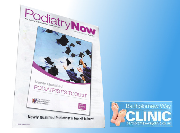 Charlie Young in Podiatry Media